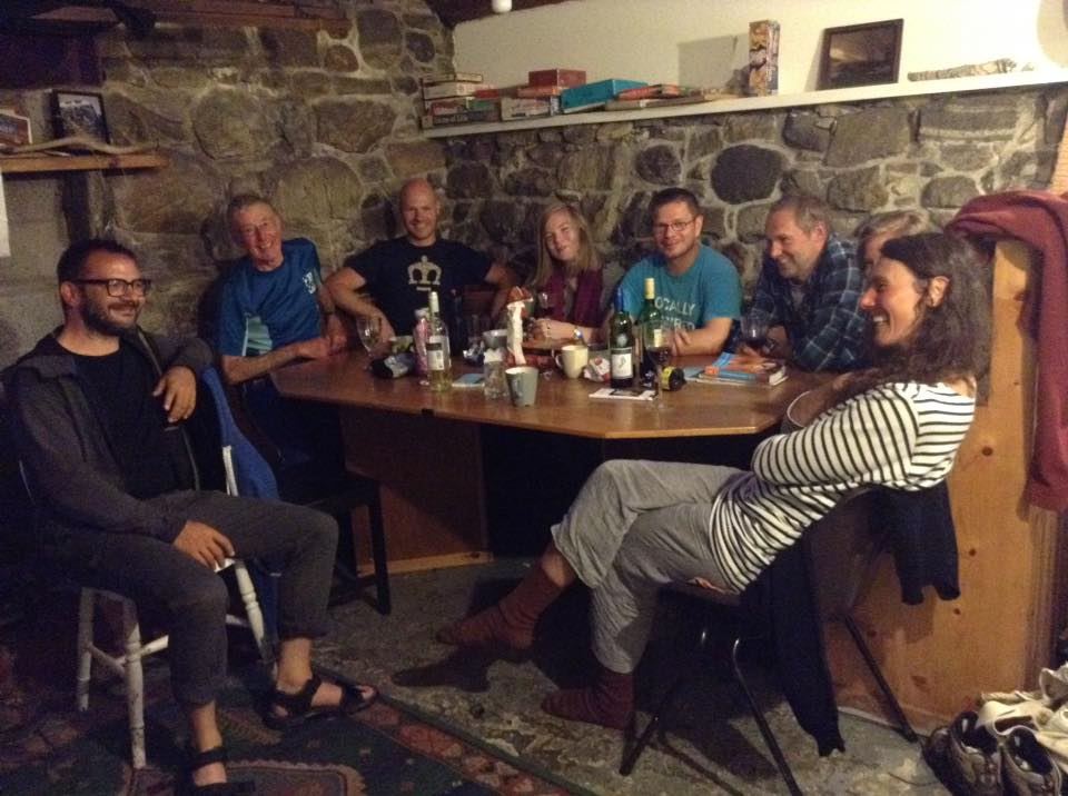 A happy stay in a hostel in South Uist