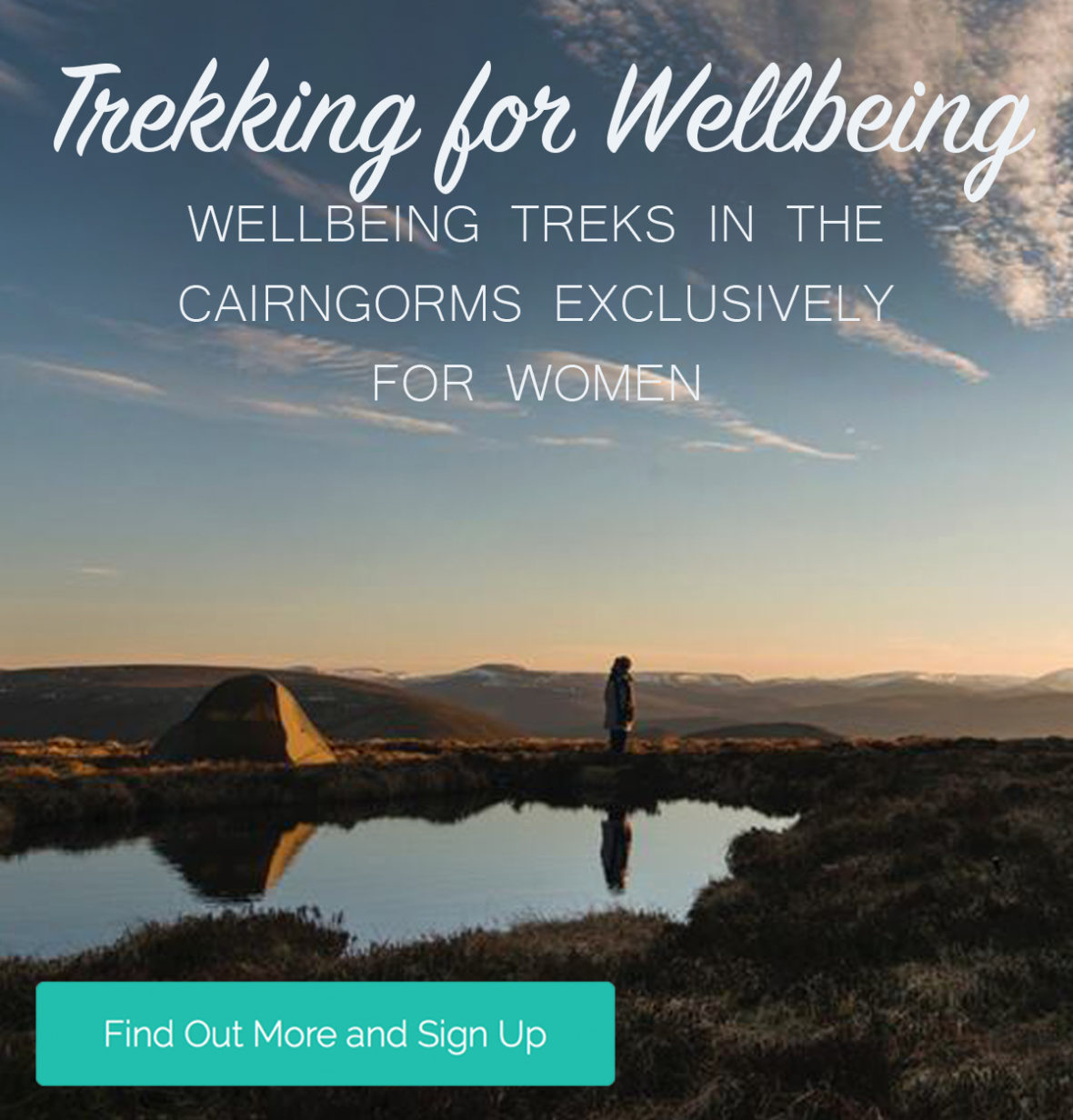 trekking for wellbeing