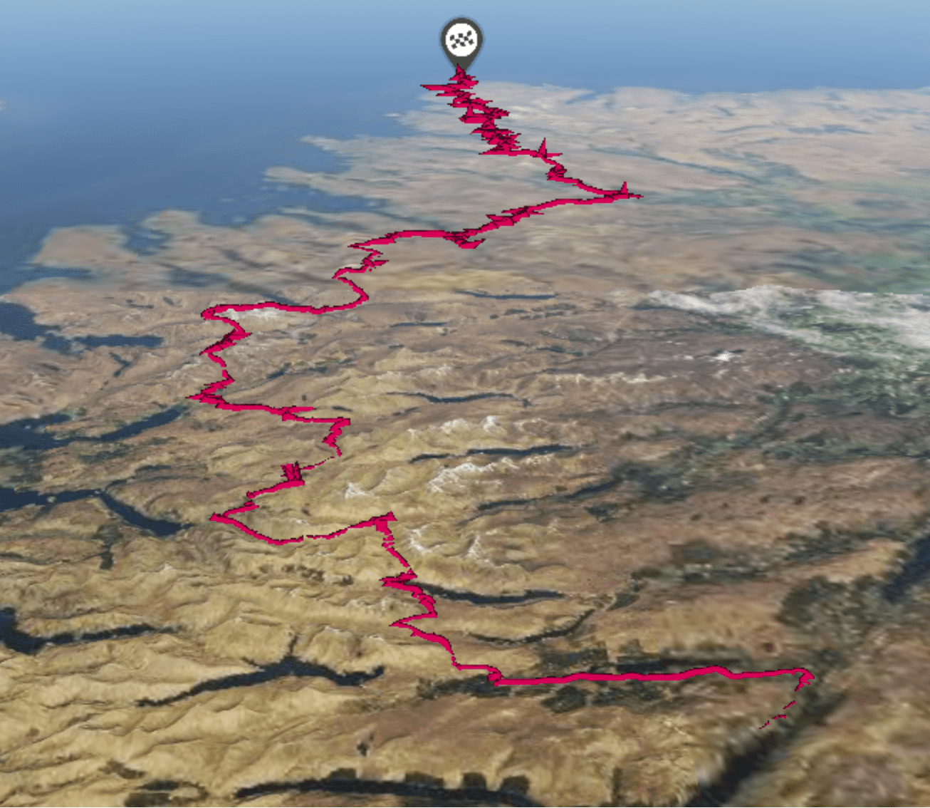 Topographic Map The Cape Wrath Way