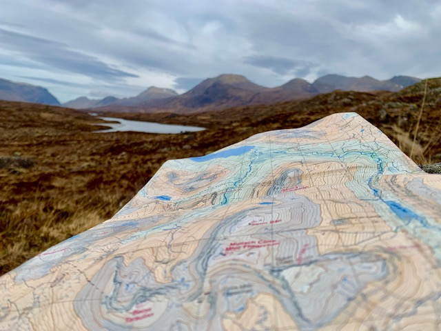 From my recent Fisherfield 6 round in the west coast of Scotland