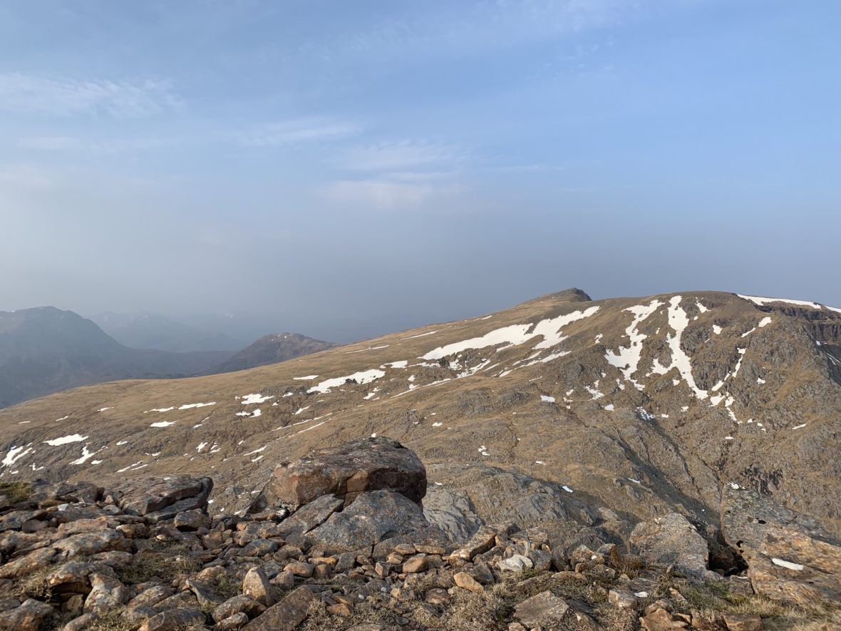 view from Ruadh-Stac-Mor
