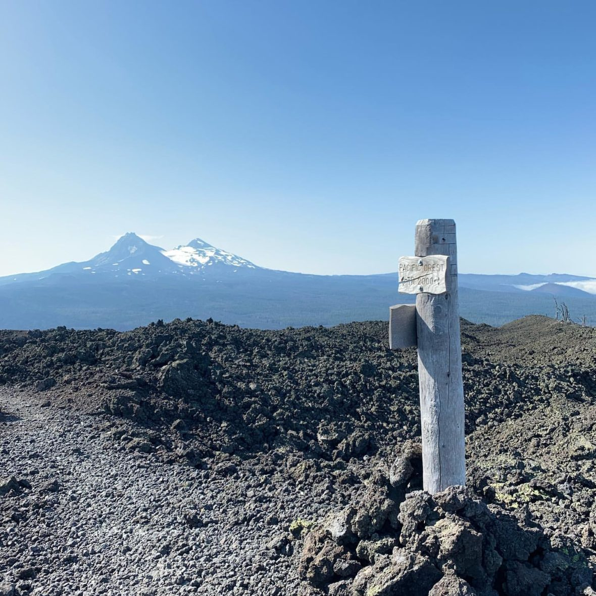 Day 37 in the lava fields